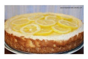 The Best Lemon Cheesecake EVER!