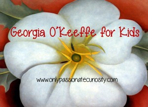 Georgia OKeeffe For Kids Only Passionate Curiosity
