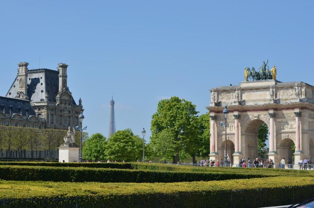 In Paris: Jardin des Tuileries