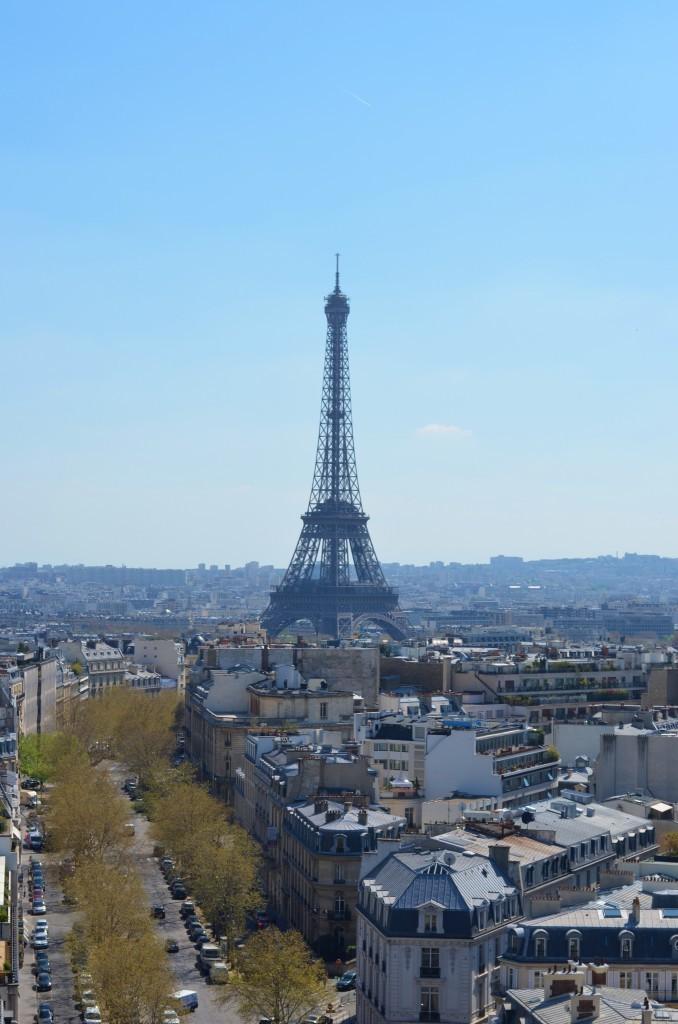 In Paris: Arc de Triomphe