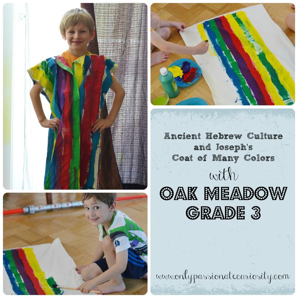 Ancient Hebrew Coat of Many Colors Oak Meadow