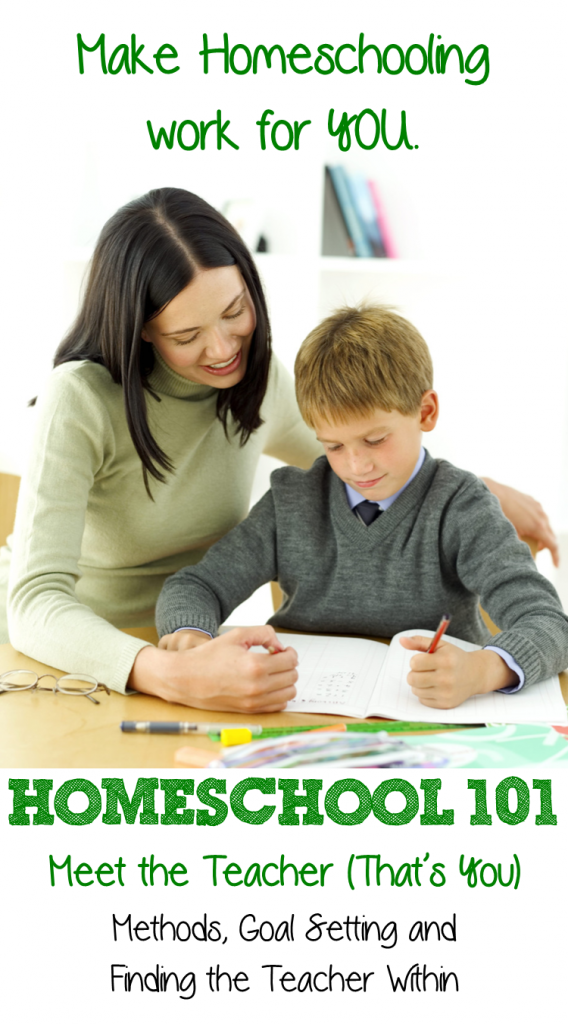 Homeschool 101 teacher