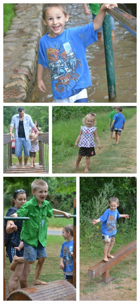 Barefoot park collage