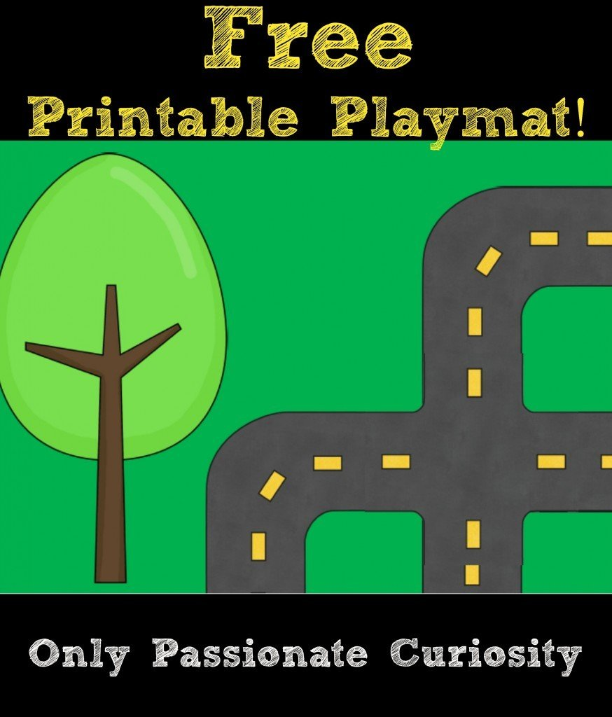 Printable Road Playmat and German Road Signs – Only Passionate Curiosity