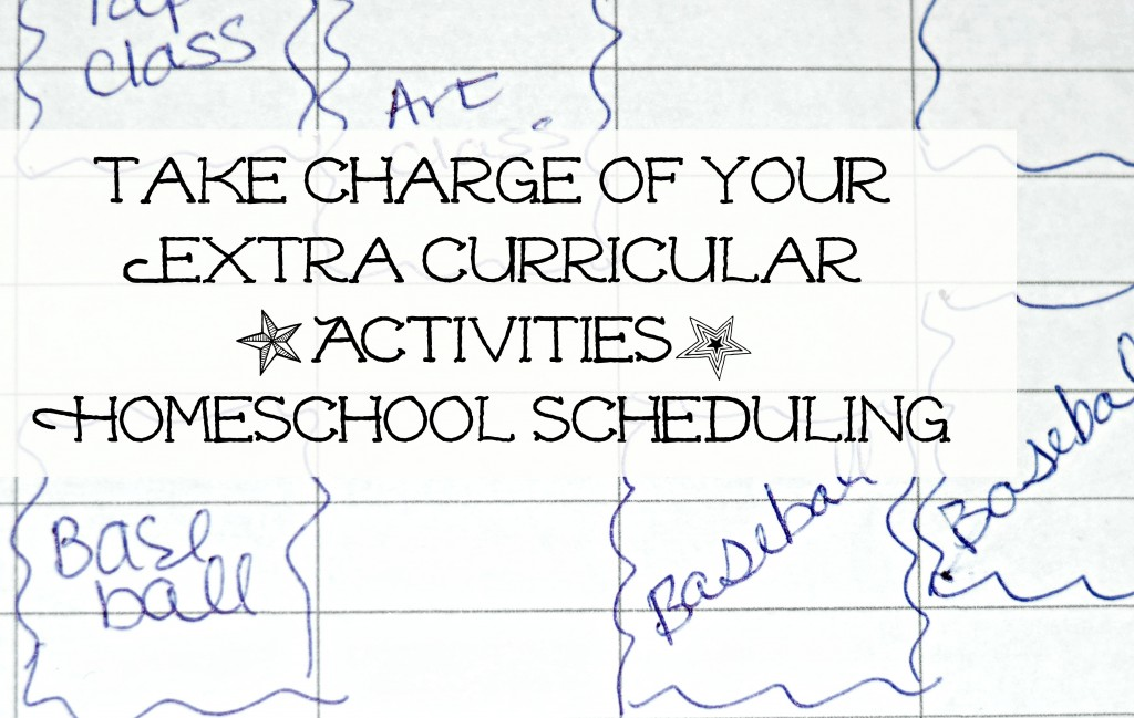 Take charge of Extra Curricular activities