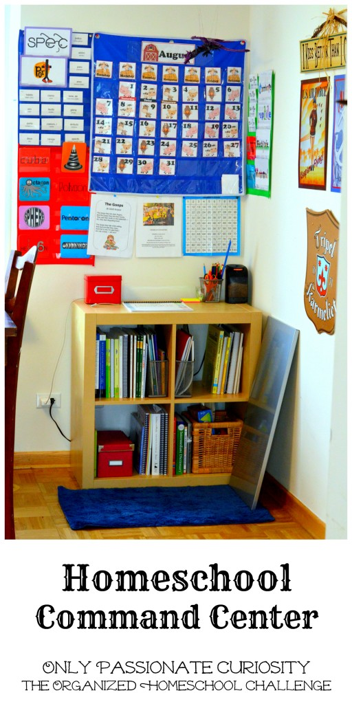 Create a Command Center for your Homeschool