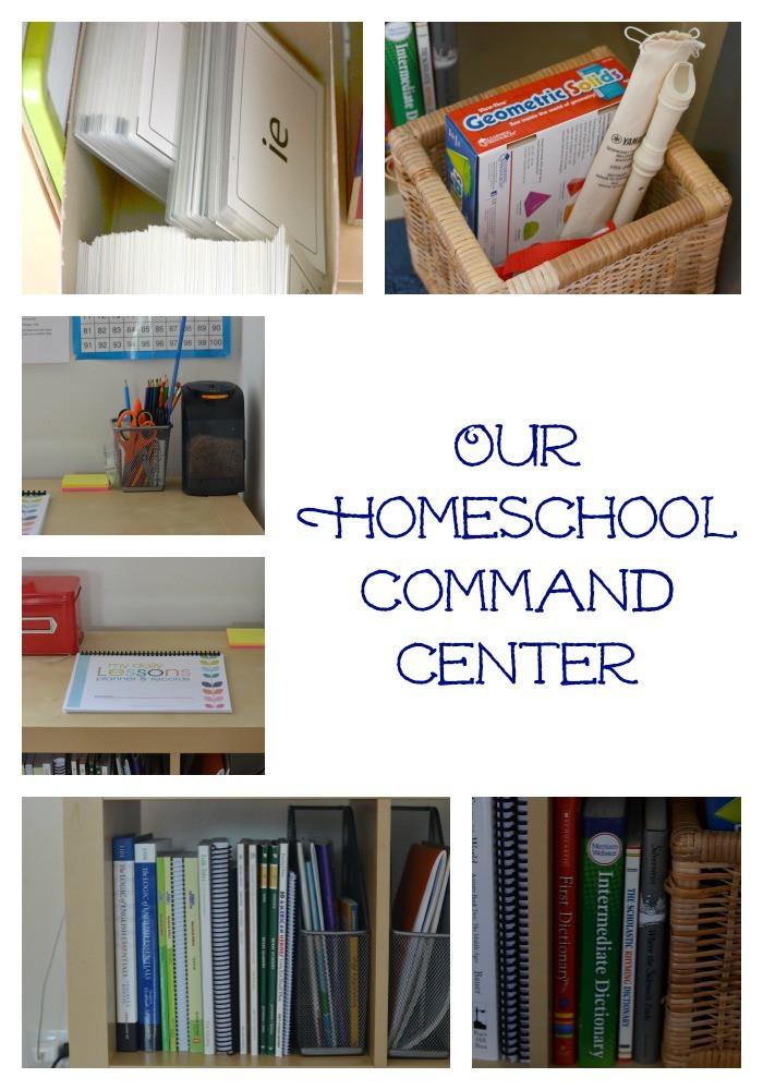 Create a Homeschool Command Center