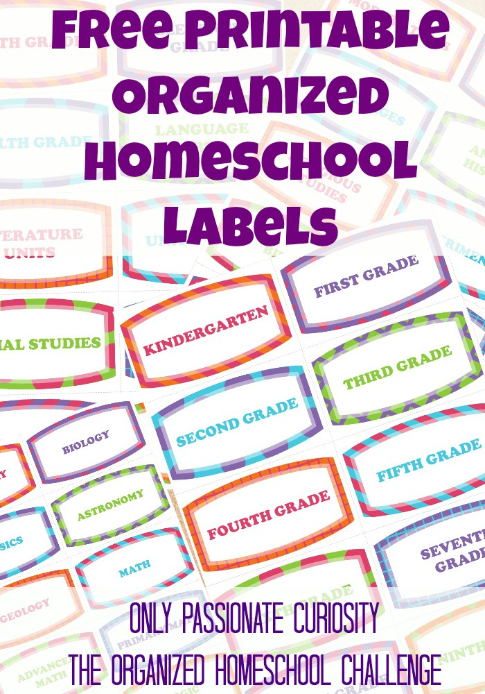 graphic about Free Printable Organizing Labels named Totally free Printable Labels in the direction of support your self consider well prepared- the