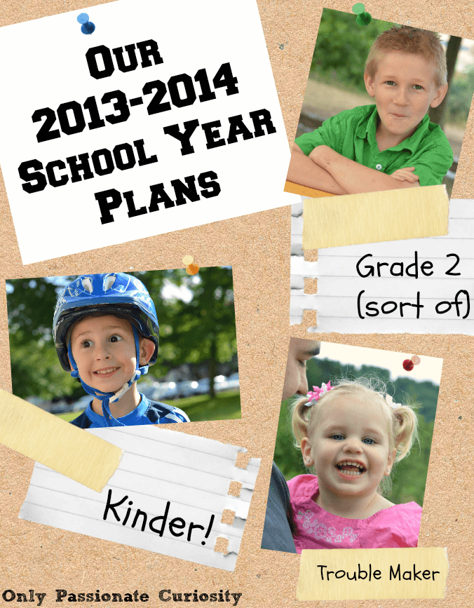 Our Homeschool Curriculum and Plans for 2013-2014