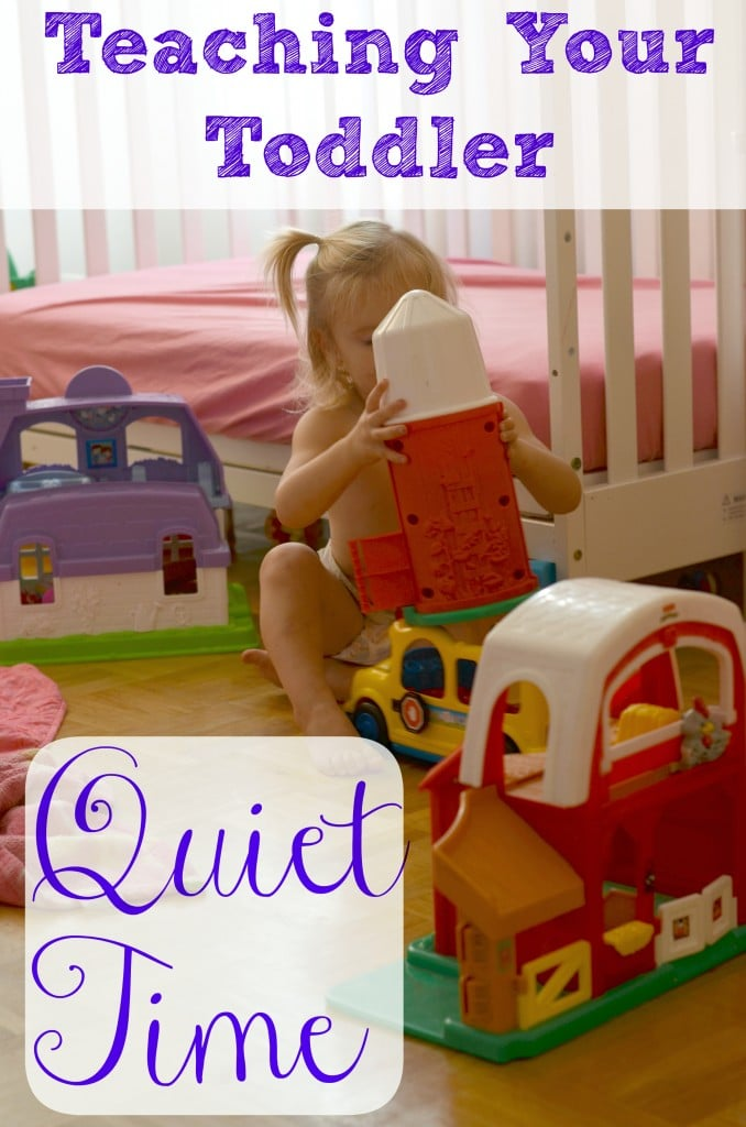 Quiet time with toddlers