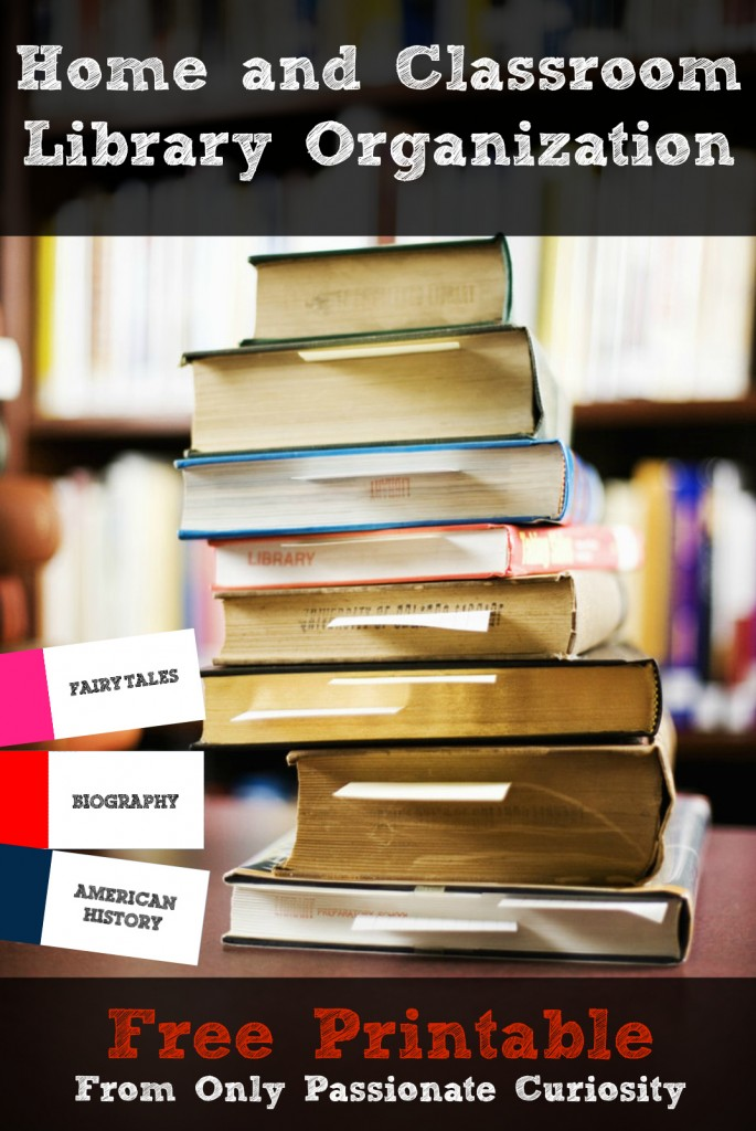 Get your own free library organization system- for all grades!