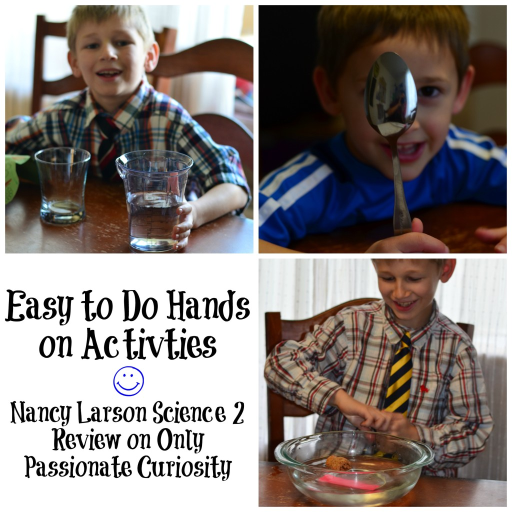 Fun hands on learning with Nancy Larson Science 2