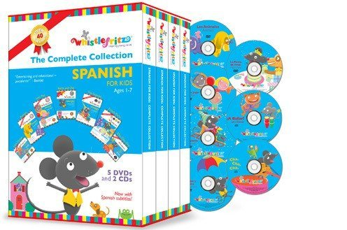 Whistlefritz: Spanish for Kids {Review}