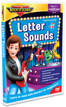Rock 'N Learn Letter Sounds {Review and GIVEAWAY!}