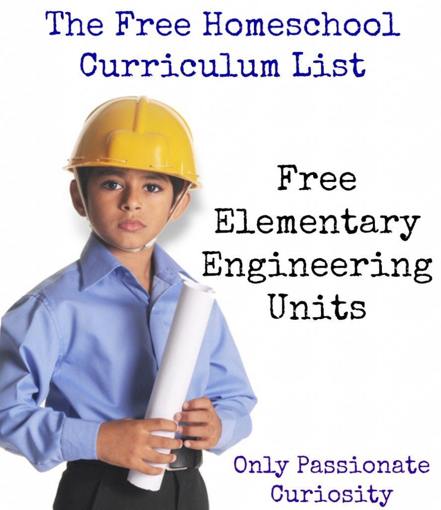 Free Homeschool Curriculum { Free Engineering Curriculum for Elementary Students }
