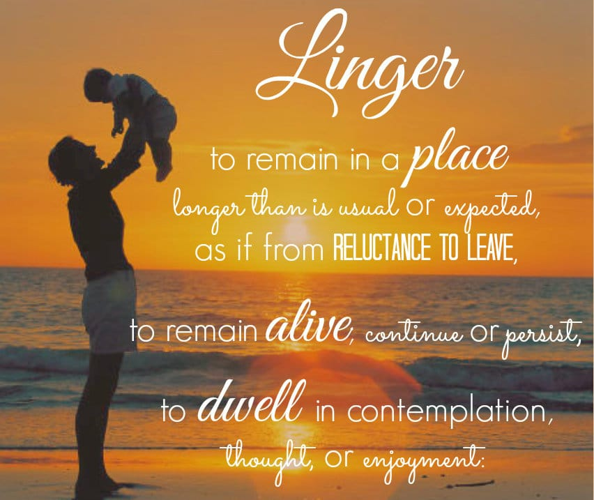 2014 Word of the Year: Linger