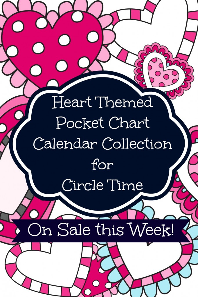 Discounted Pocket Chart Calender cards for February
