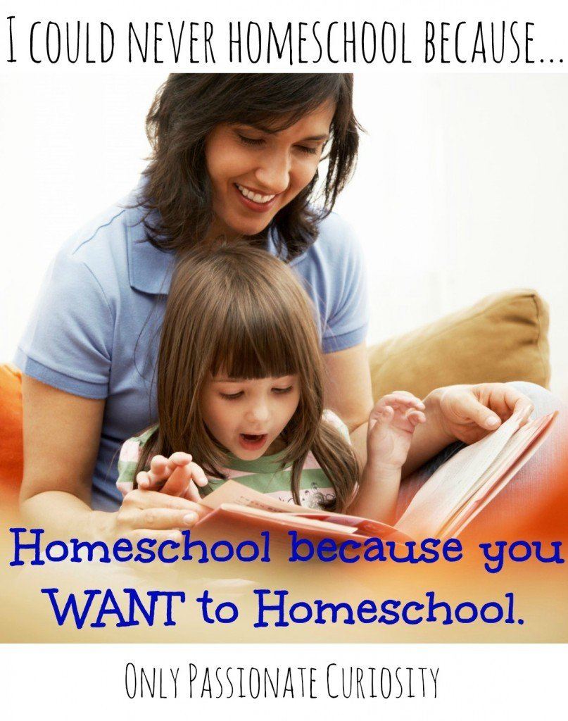 Homeschooling Essentials: I could NEVER Homeschool without {Desire}