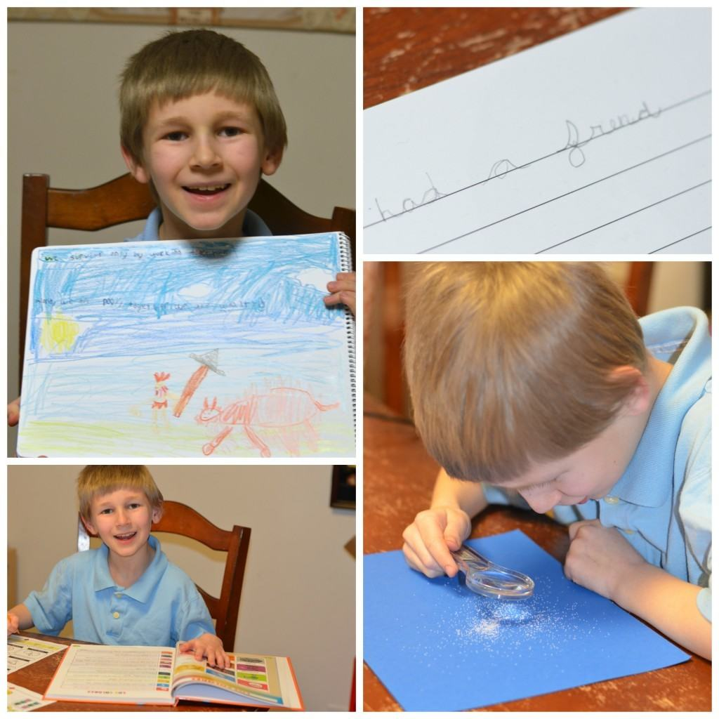 A Day in the Life: Homeschooling Grade 3, Grade 1 and Preschool
