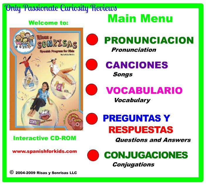 Risas y Sonrisas: Homeschool Spanish Program {Review}