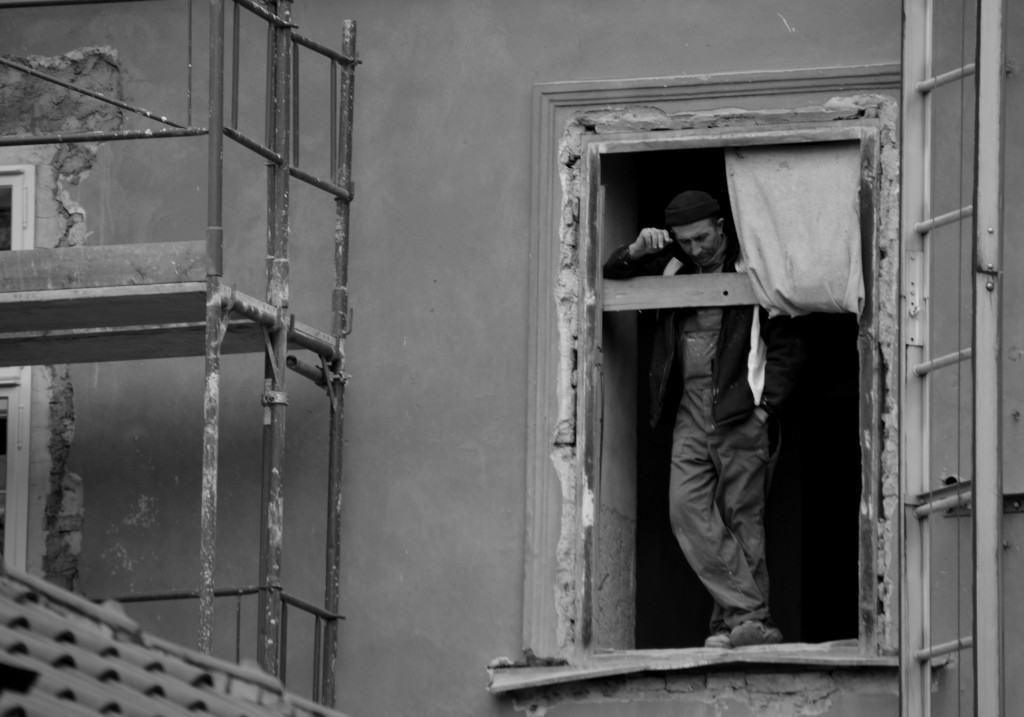 Wordless Wednesday: People Watching in Prague