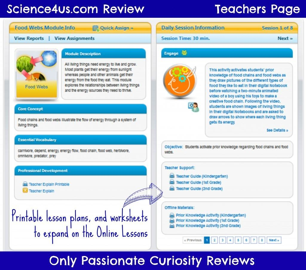 Science4Us.com- Early Elementary Science Online {Schoolhouse Crew Review}