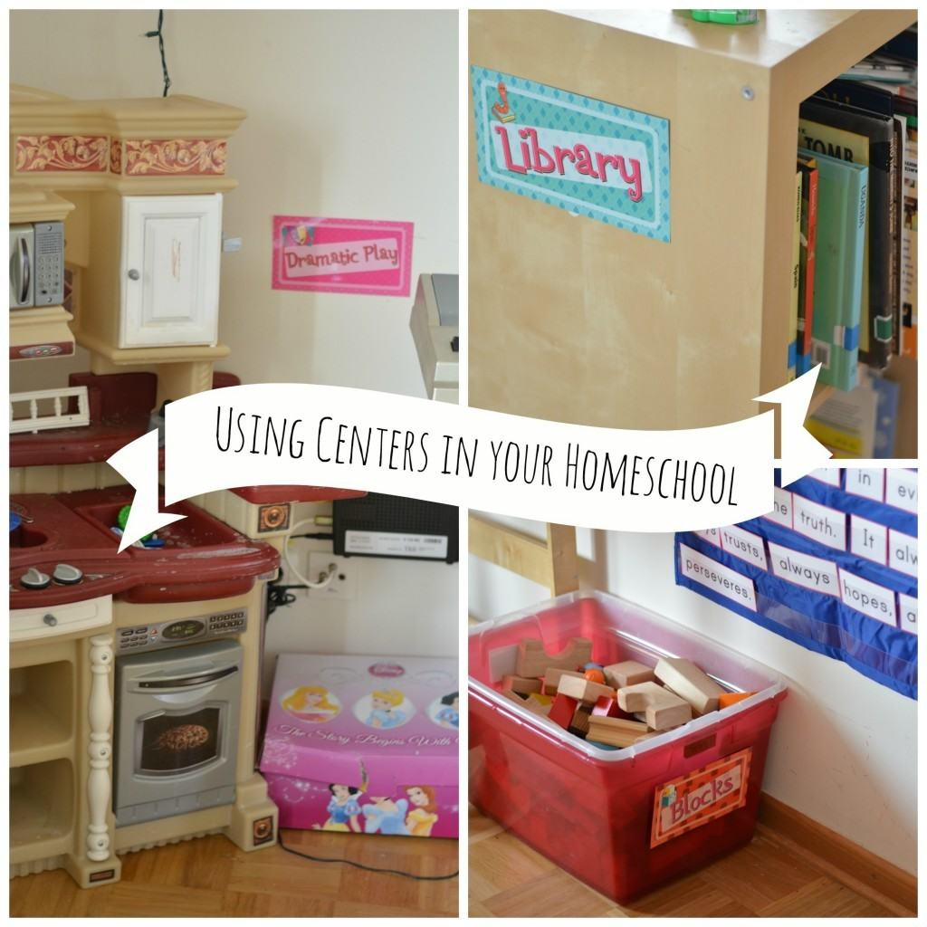 Mother Goose Monday: How I set up our Home Preschool