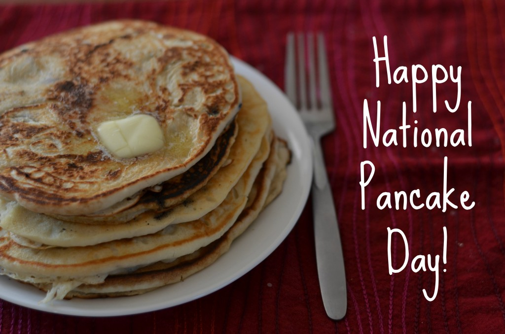 National Pancake Day- Play a fun pancake relay game!