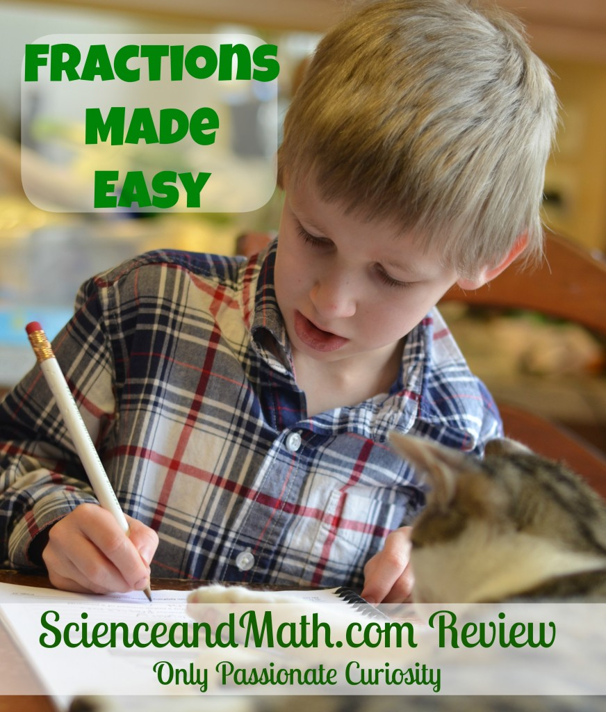 ScienceandMath.com review- fractions