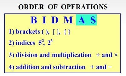 CTCMath Order of Operations