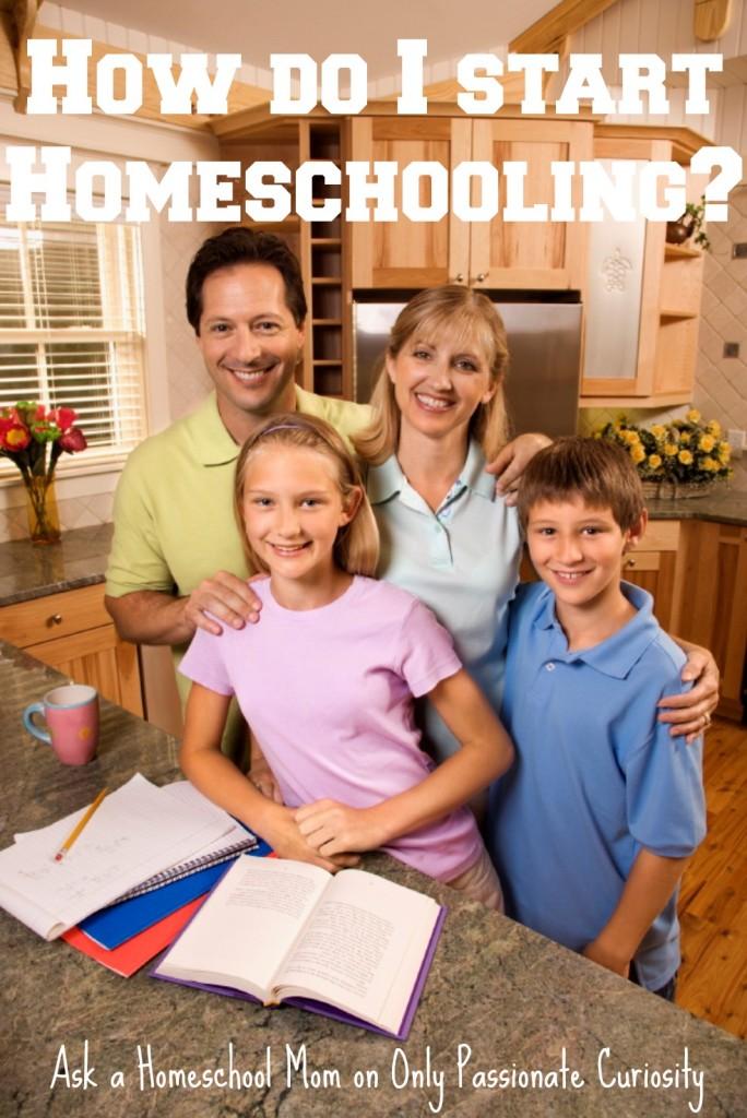 How do I get started Homeschooling