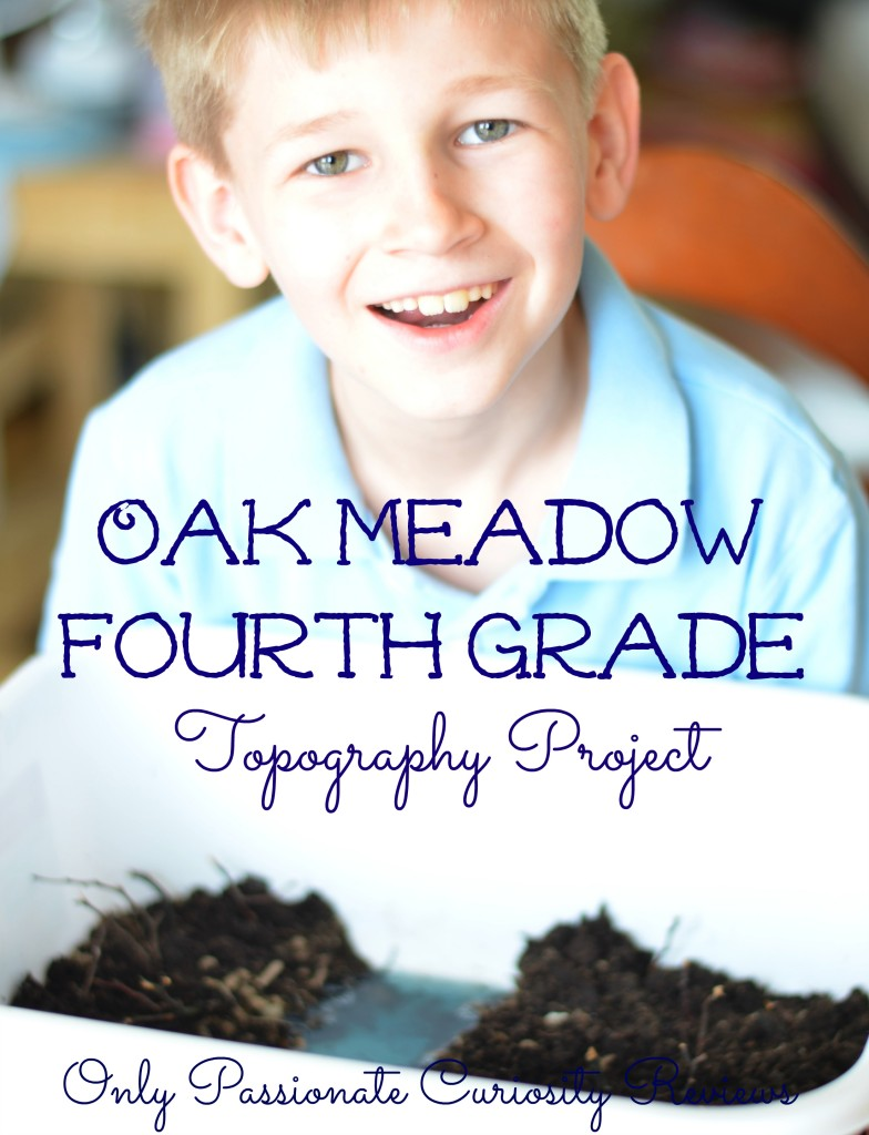 Win Oak Meadow- get a full year! Grade 4 review- topography project