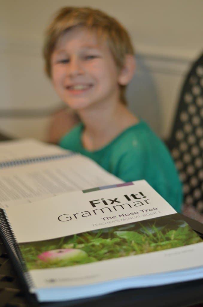 IEW's Fix It! Grammar {Schoolhouse Crew Review}