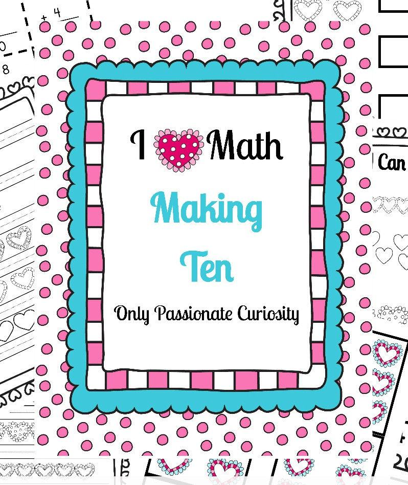 I *Heart* Math Practice for Addition Facts – Only Passionate Curiosity