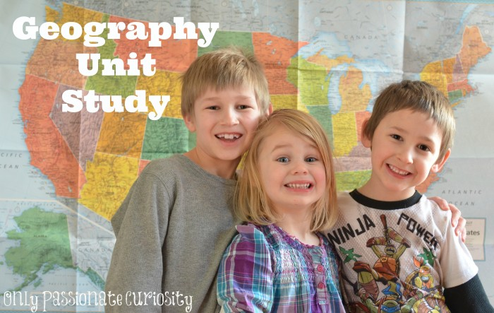 Geography Unit Study with printables