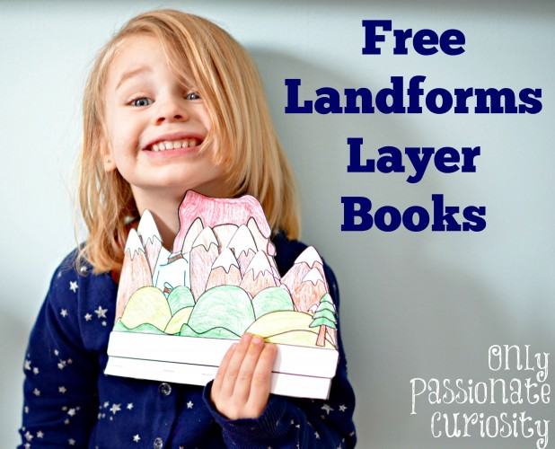 Landforms Layer Books