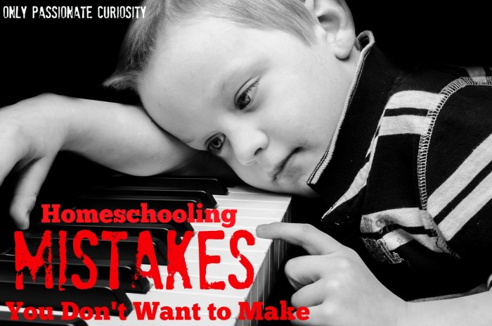 homeschooling mistakes you don't want to make