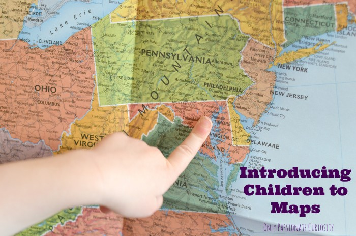 introducing children to maps