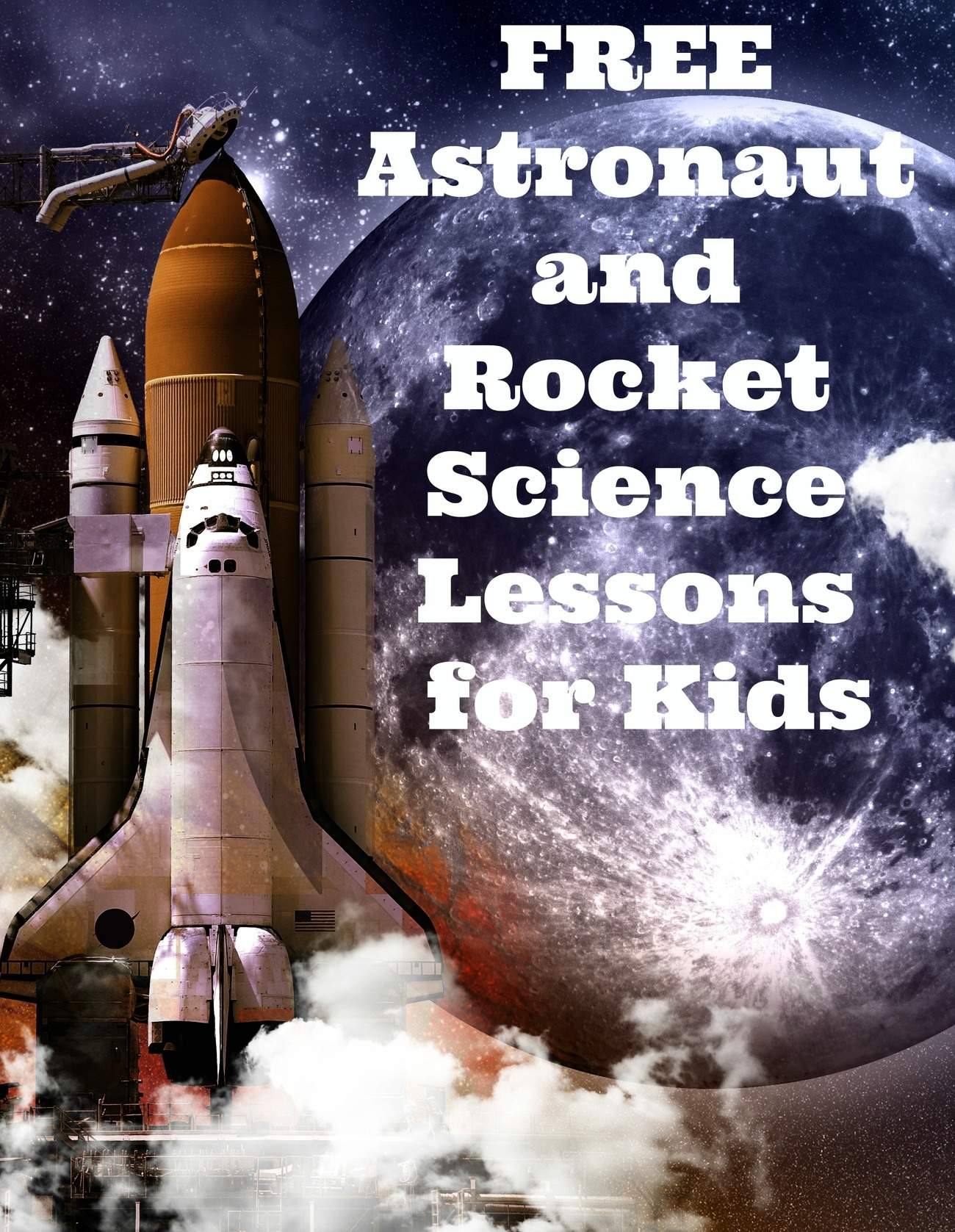 Free Astronaut and Rocket Ship Lessons