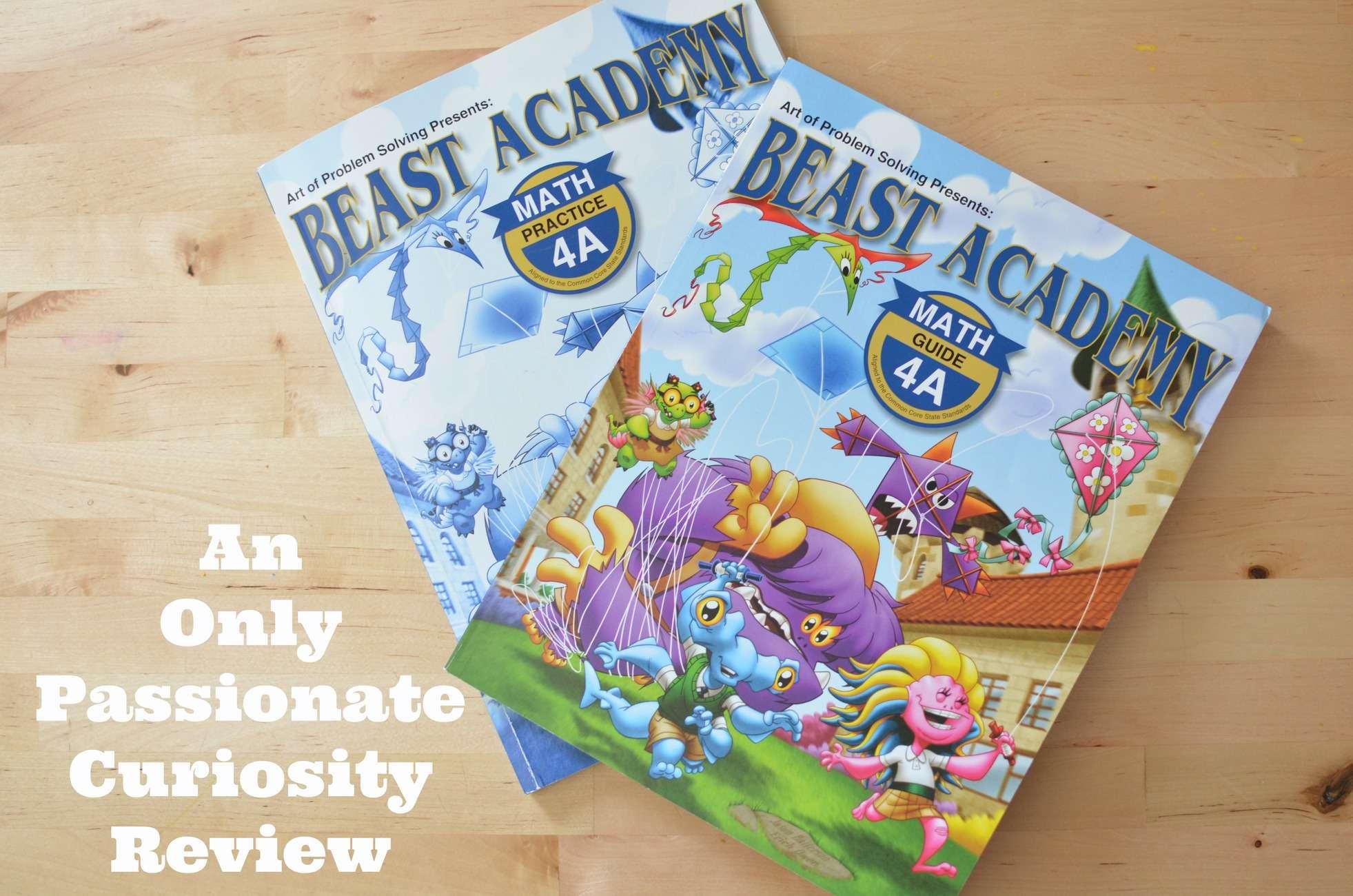 Beast Academy: Math Made Fun {Review}