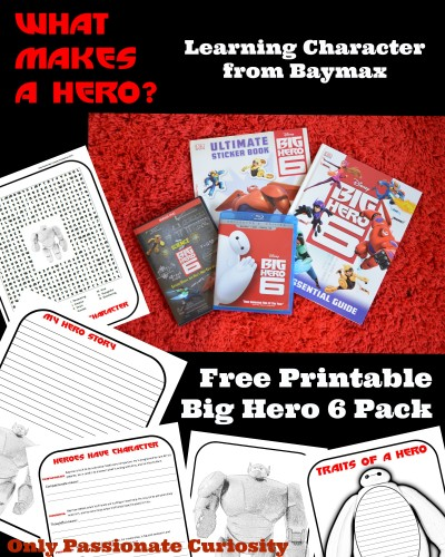 Free Big Hero 6 Printable Pack #Shop #BigHero6Release