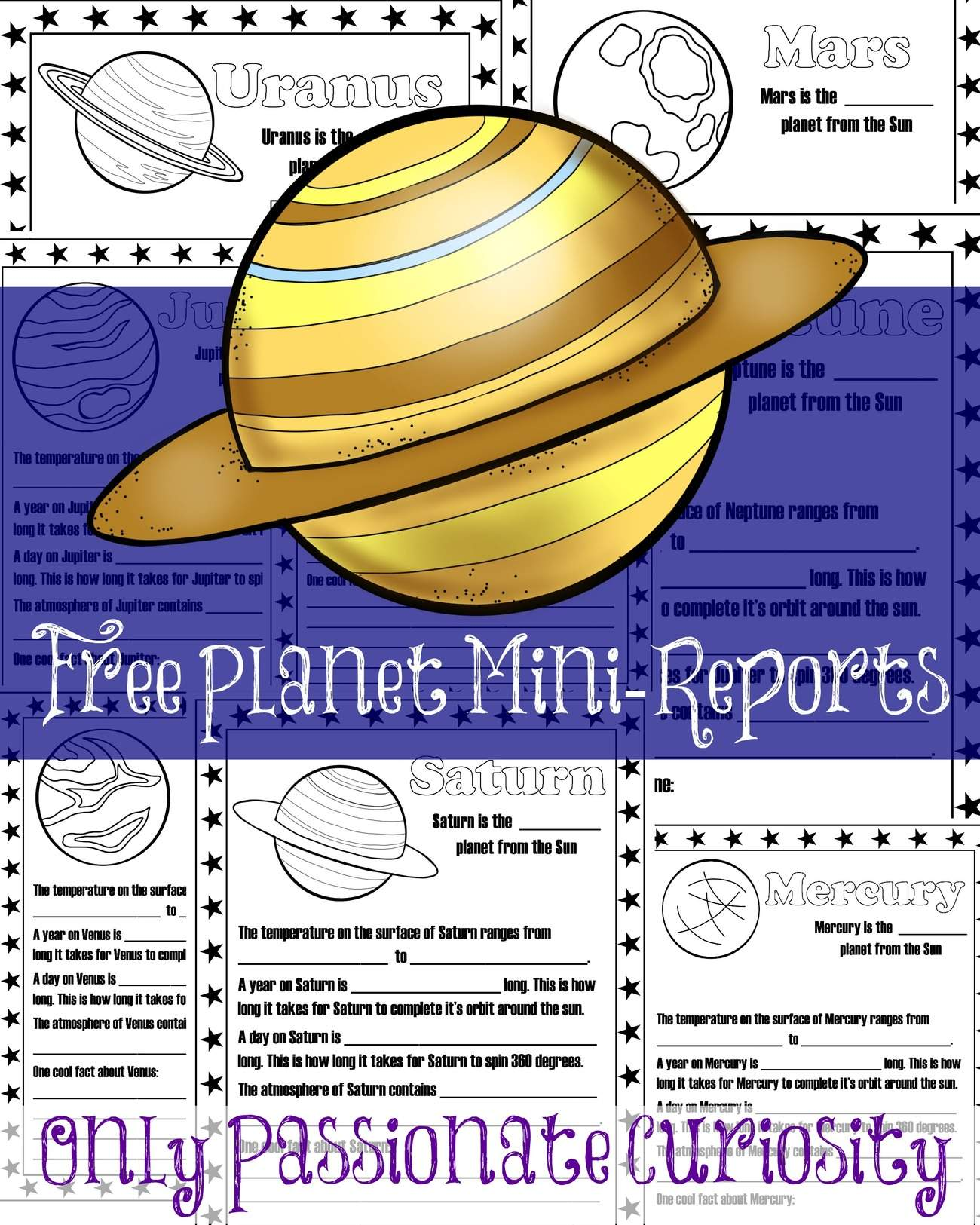 Planet Mini Reports Only Passionate Curiosity