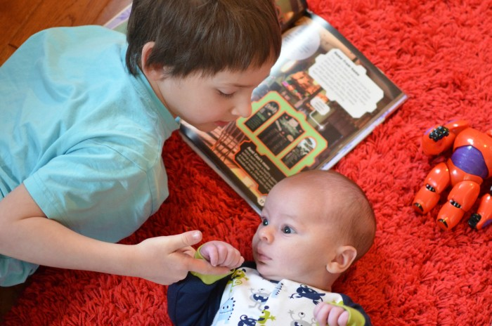 Reading to Brother- Big Hero 6 #Shop