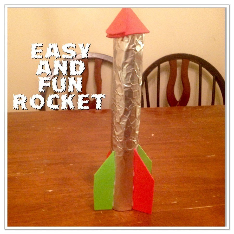 Guest Post: Easy Rocket Ship Craft for Kids