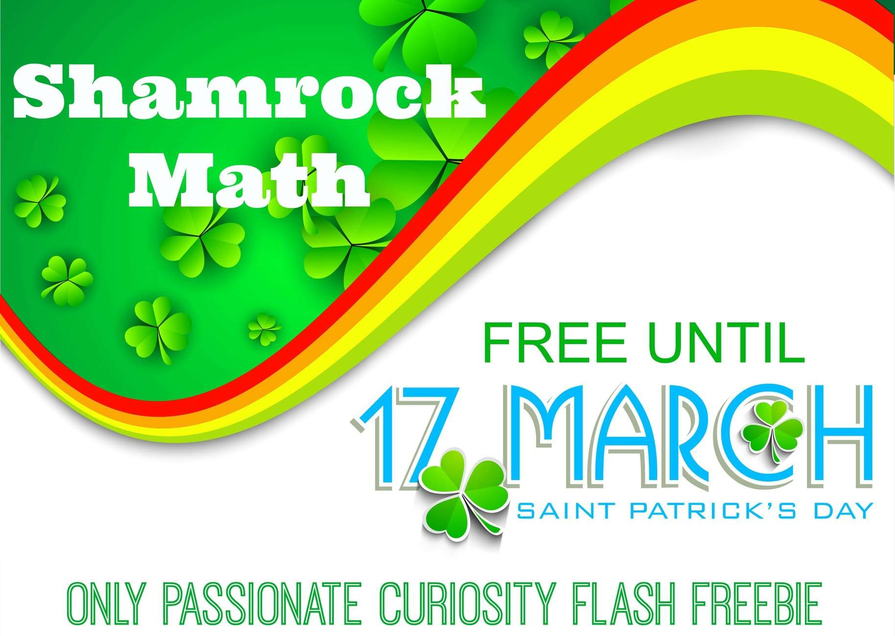 Happy Saint Patrick's Day! Flash Freebie!
