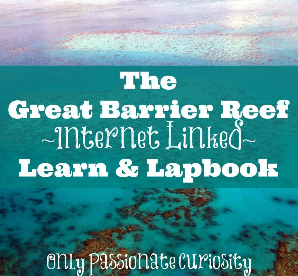 The Great Barrier Reef {Learn and Lapbook Printable}