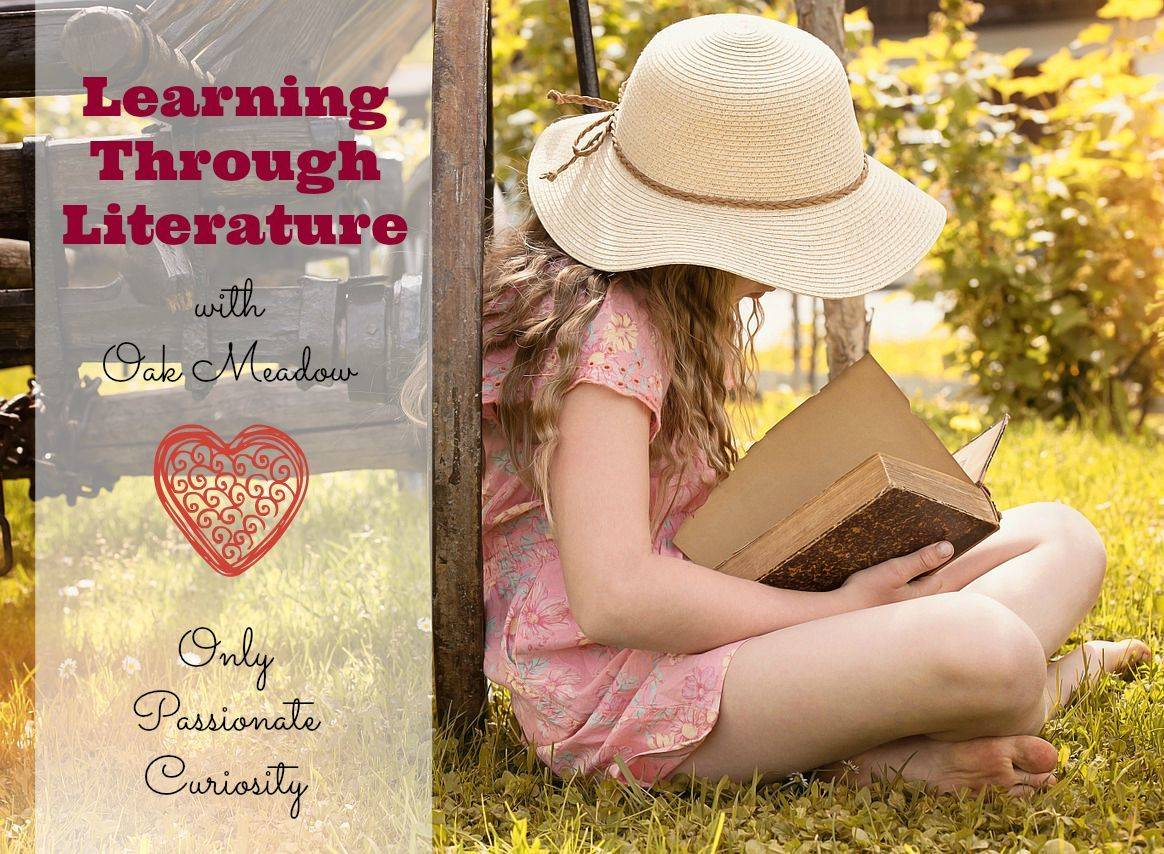 Learning through Literature {The Oak Meadow Way}