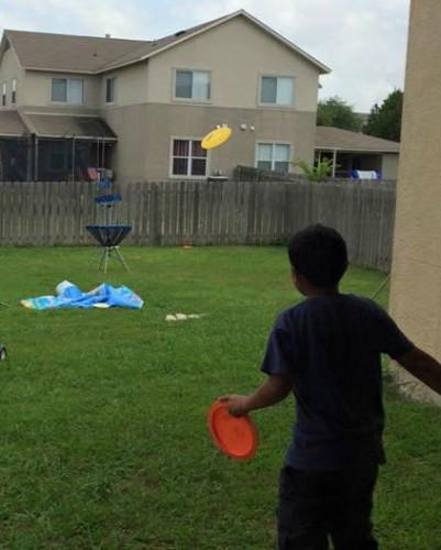 Personal Interests Frisbee Golf Homemade Backyard