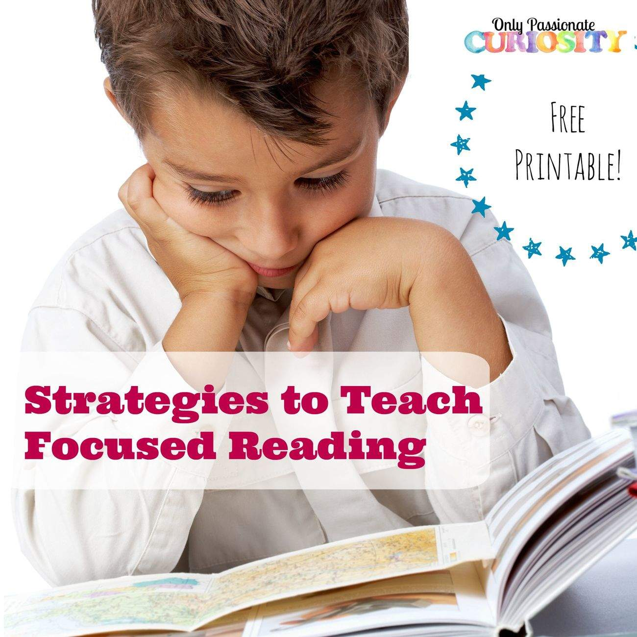 Teaching Reading Comprehension {Free Printable}