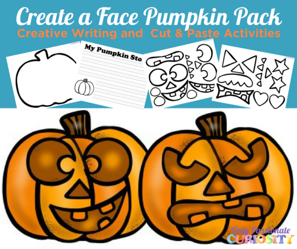 Create a Face Pumpkin Pack